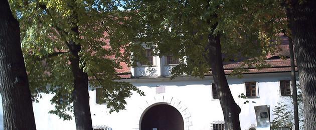 Torbogen des Torhauses Dölitz