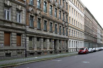 Bild wird vergrößert: Josephinenstraße vor Sanierung, 1996