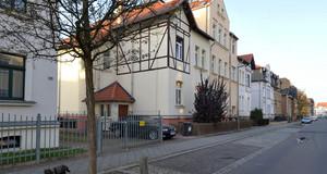 Straßenansicht im Sanierungsgebiet Böhlitz-Ehrenberg