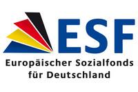 Logo ESF - Europäischer Sozialfonds für Deutschland