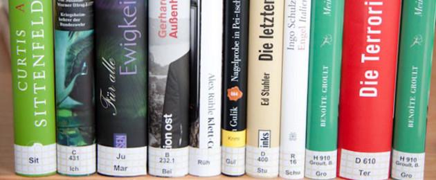 Systematik der Medienaufstellung - Signatur auf dem Buchrücken