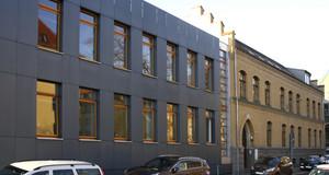 Außenansicht des Hauses des Jugendrechts in Leipzig.