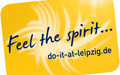 Logo mit Text Feel the spirit-do-it-at-leipzig.de