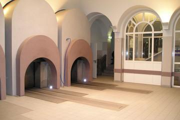 Bild wird vergrößert: Krematorium Ofenhalle