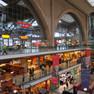 Einkaufspromenaden im Hauptbahnhof Leipzig