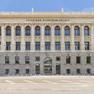 Leipziger Stadtbibliothek Frontansicht des Gebäudes