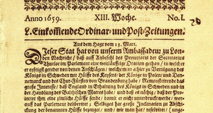 Zeitungstext von 1659