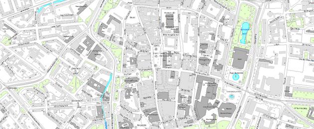 Grundkarte der Geobasisdaten - DSK5