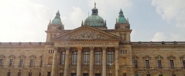 Blick auf den Haupteingang des Bundesverwaltungsgerichtes