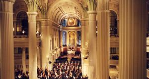 Gewandhausorchester gibt ein Konzert in der Nikolaikirche