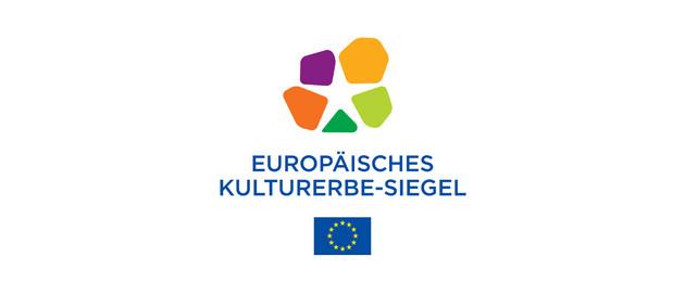Grafische Darstellung des Logos des Europäischen Kulturerbe-Siegels