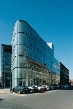 Bild wird vergrößert: Gebäudeansicht KPMG Gebäude