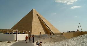 Pyramide im Belantis Vergnügungspark Leipzig