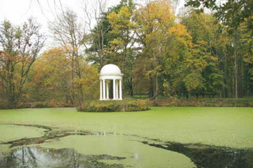 Bild wird vergrößert: Diana-Tempel im Schlosspark Lützschena
