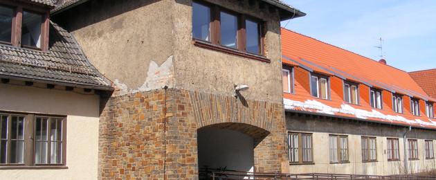 Gebäude des Sportmuseums Leipzig