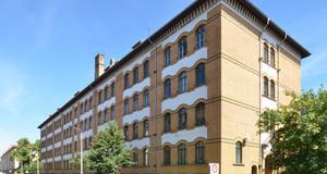 Gebäudeansicht Oberschule - Schule am Adler