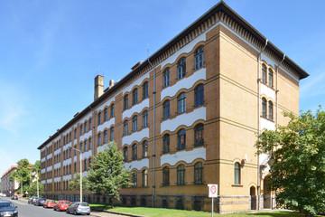 Bild wird vergrößert: Gebäudeansicht Oberschule - Schule am Adler
