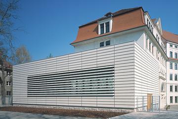 Bild wird vergrößert: Gebäudeansicht Neue Nikolaischule