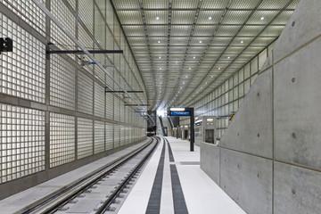 Bild wird vergrößert: Der Architekturpreis 2013 ging an den S-Bahnhof Wilhelm-Leuschner-Platz