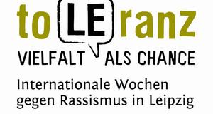 Logo toLEranz. Internationale Wochen gegen Rassismus