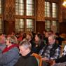 Teilnehmende der Demokratiekonferenz im Rahmen der Partnerschaft für Demokratie im Ratsplenarsaal des Neuen Rathauses am 7.11.2017.