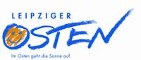 """Logo Leipziger Osten - """"Im Osten geht die Sonne auf"""""""