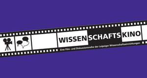 Eine Filmrolle auf lila Hintergrund