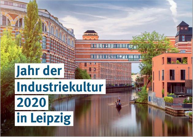 Blick auf Karl-Heine-Kanal und Buntgernwerke
