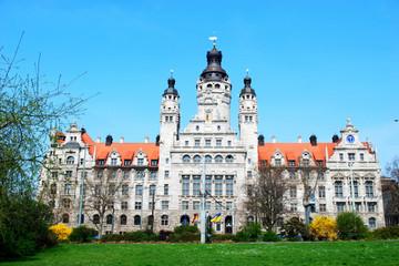 Bild wird vergrößert: Neues Rathaus in Leipzig Gebäudeansicht