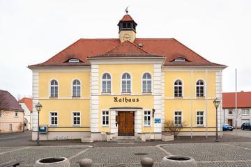 Bild wird vergrößert: Gebäude Rathaus Liebertwolkwitz