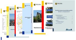 Titelblätter verschiedener Veröffentlichungen des Amtes für Statistik und Wahlen