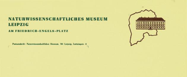 Briefkopf des Naturwissenschaftlichen Museums Leipzig