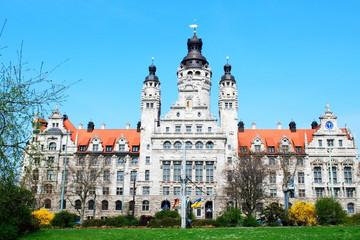 Bild wird vergrößert: Neues Rathaus Leipzig
