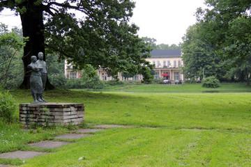 Bild wird vergrößert: Blick auf die Parkgaststätte im Agra-Park