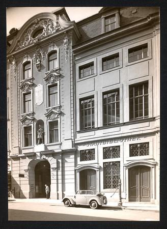 Foto des Städtischen Kaufhauses von 1930