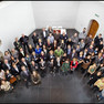 Gruppenfoto von oben: EUROCITIES Kulturforum in Utrecht 2012