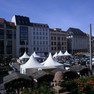 Marktplatz zu Leipziger Markttage