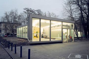 Bild wird vergrößert: Gebäudeansicht Galerie für Zeitgenössische Kunst