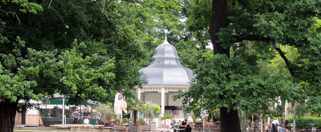 im Clara-Zetkin-Park