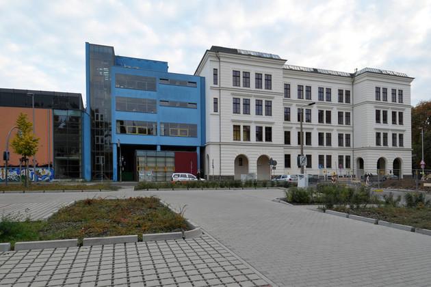 Gebäudeansicht Evangelisches Schulzentrum