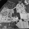 Luftbild von 1990 schwarz/weiß