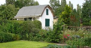 Kleingartenanlage in Leipzig