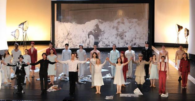 """Gastspiel des Leipziger Balletts in Brünn: """"Chaplin"""""""