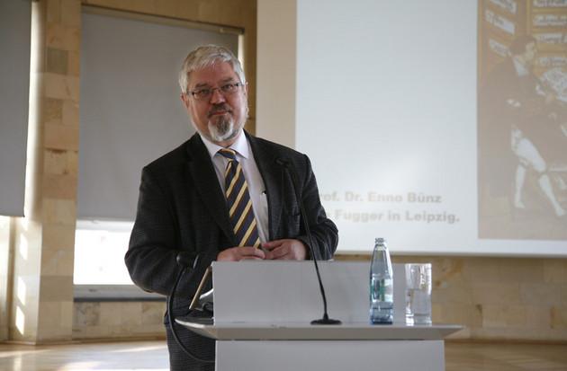 Vortrag von Prof. Dr. Enno Bünz beim Tag der Stadtgeschichte 2011 zur Leipziger Wirtschaftsgeschichte.