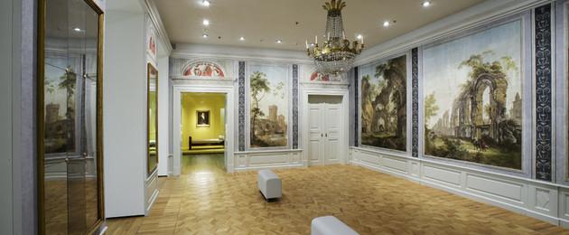 Römischer Saal im Grassi Museum für Angewandte Kunst
