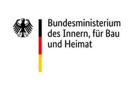 Das Logo zeigt den Bundesadler und den Schriftzug Bundesministerium des Innern, für Bau und Heimat