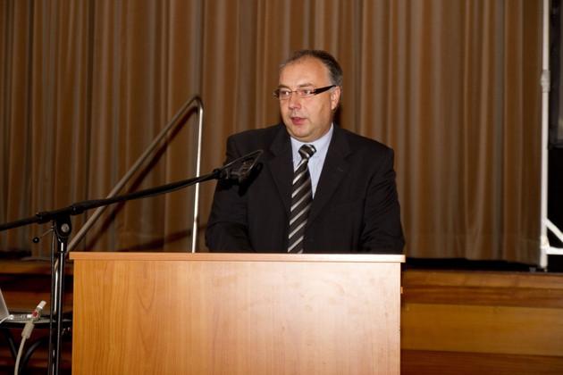 Vortrag des Leiters der Sächsischen Bildungsagentur Leipzig Karsten Ahnicke