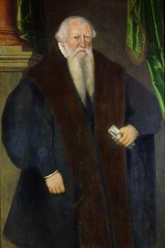 Bild wird vergrößert: Gemälde mit einer Darstellung von Hieronymus Lotter