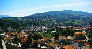 Travnik city view