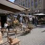 Historischer Handwerkermarkt während der Leipziger Markttage